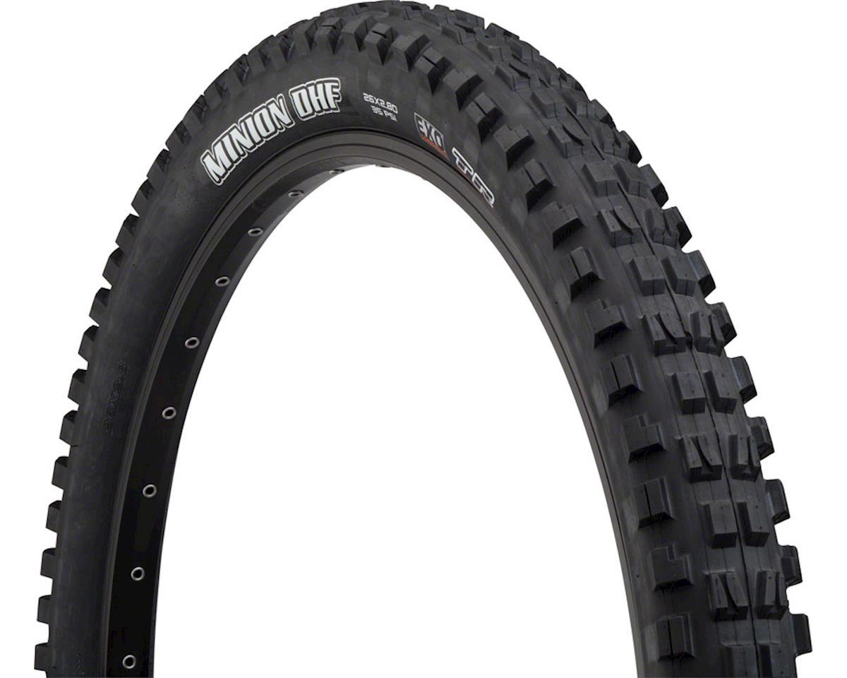Maxxis Minion DHF MaxxTerra Plus Tire (3C/EXO/TR) (26 x 2.80)