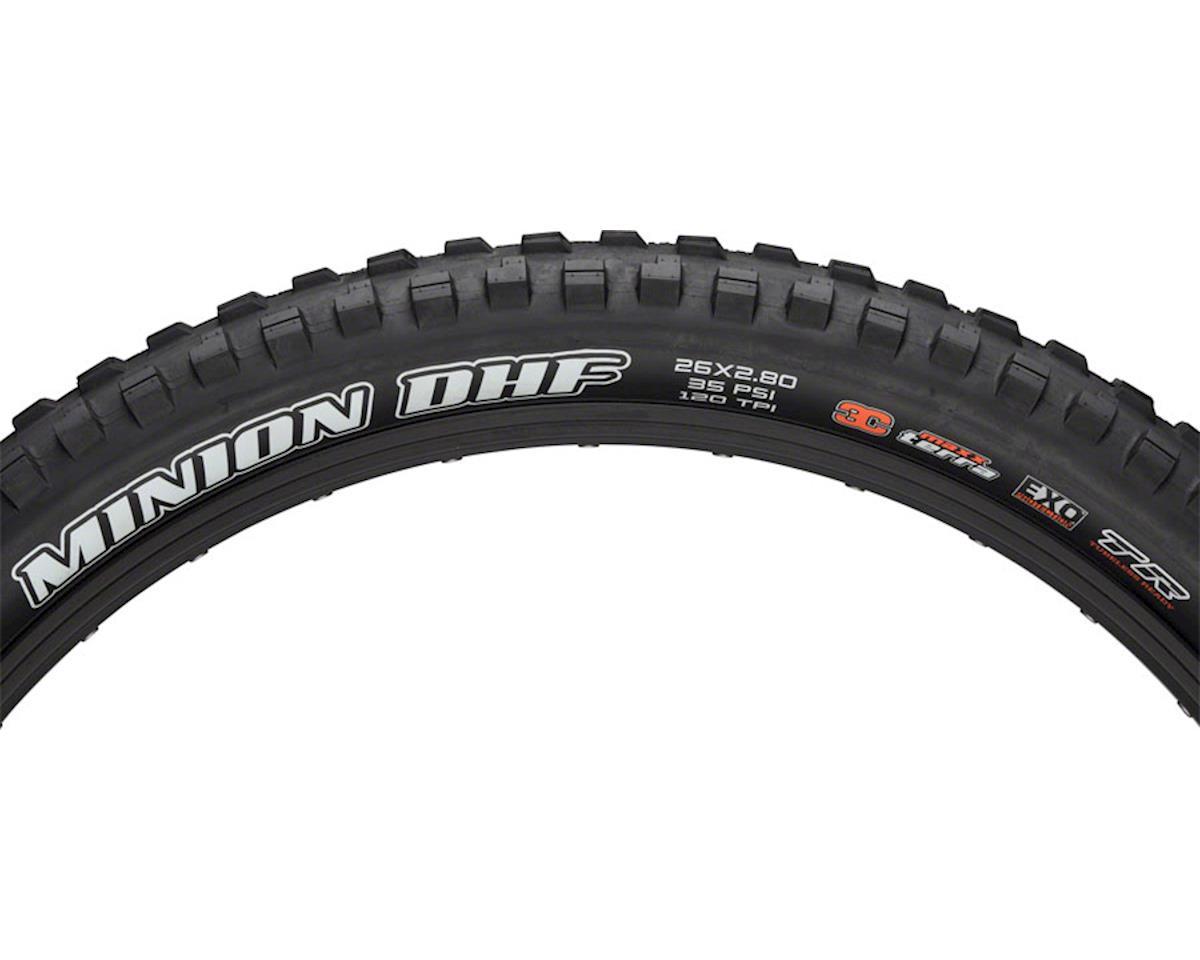 Maxxis Minion DHF Dual Compound MTB Tire (EXO/TR) (26 x 2.8)