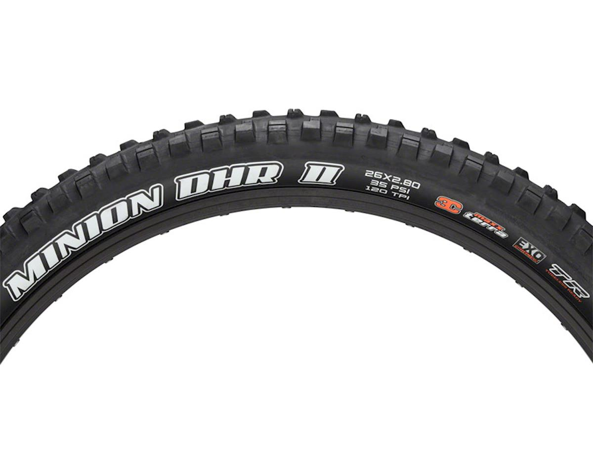 Maxxis Minion DHR II MaxxTerra MTB Tire (3C/EXO/TR) (26 x 2.8)
