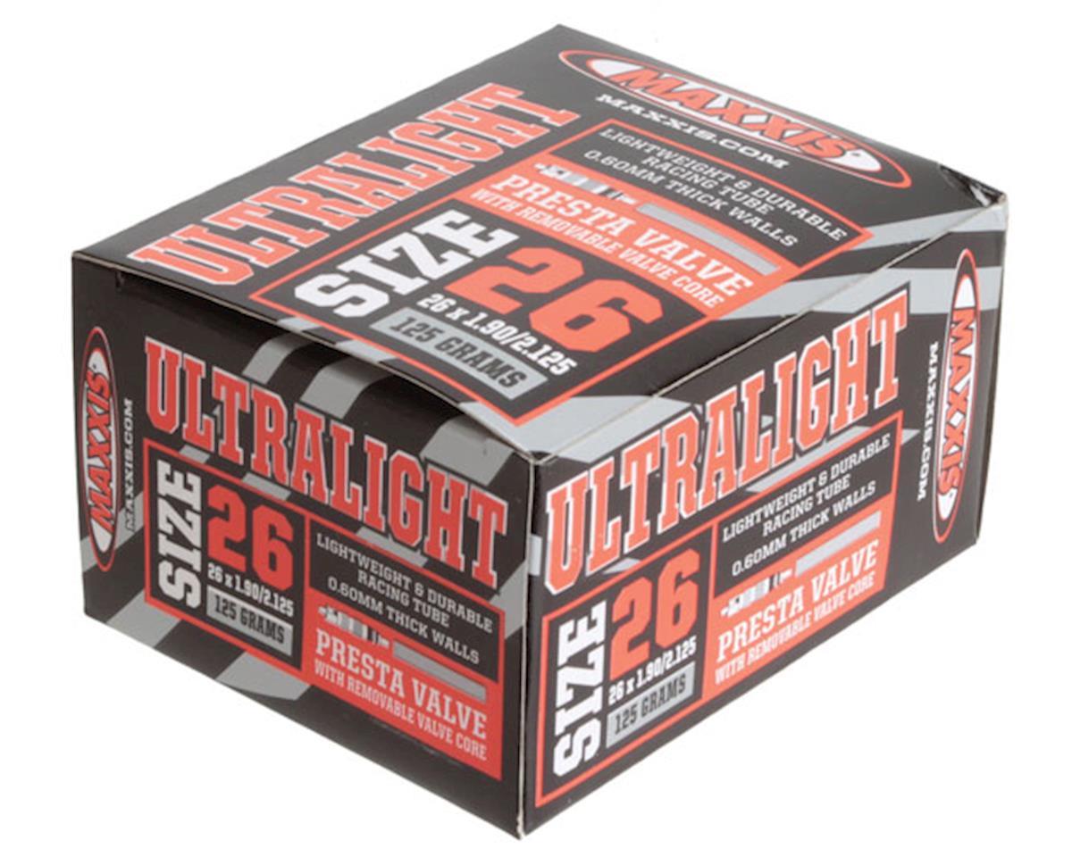 "Maxxis Ultralight Tube (26 x 1.90-2.125"") (Presta Valve)"