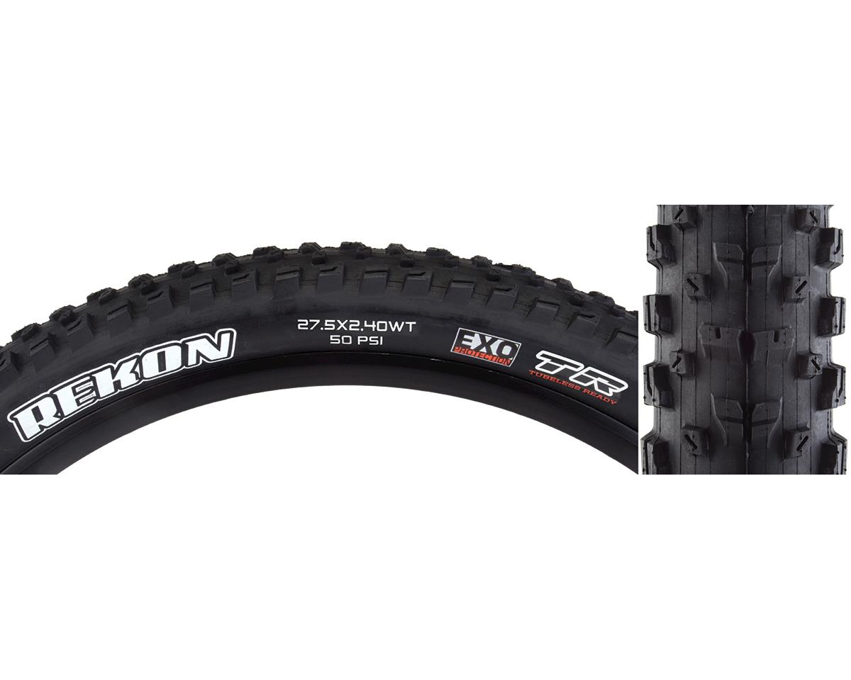 Maxxis Rekon Dual Compound Tire (WT) (EXO/TR) (27.5 x 2.40)