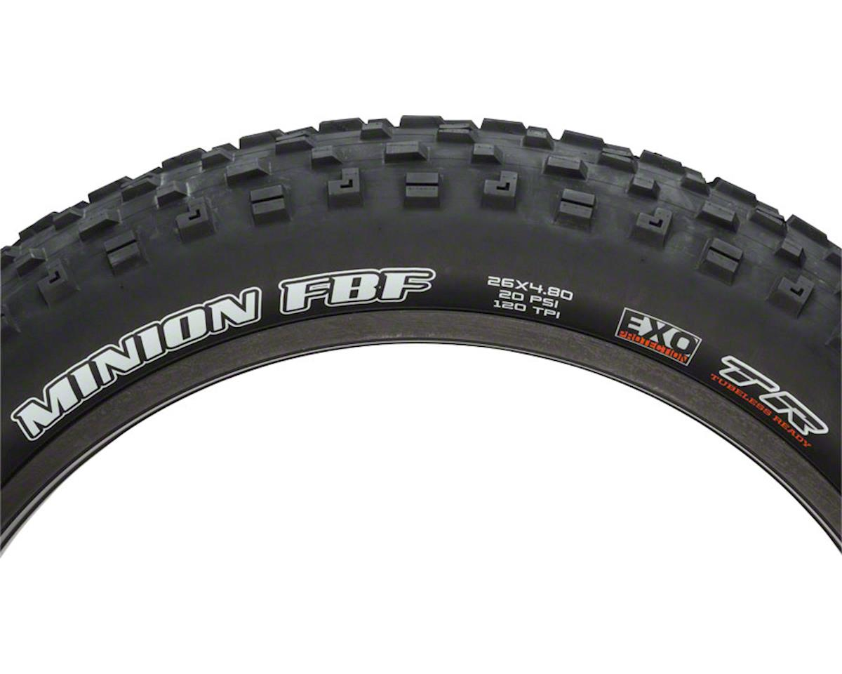 Maxxis Minion FBF Dual Compound MTB Tire (EXO/TR) (26 x 4.80)