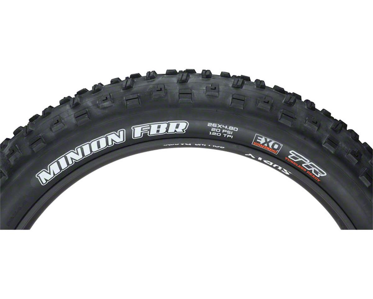New Maxxis Minion FBF 26 x 4.80 Tire Folding 120tpi Dual Compound EXO Tubeless