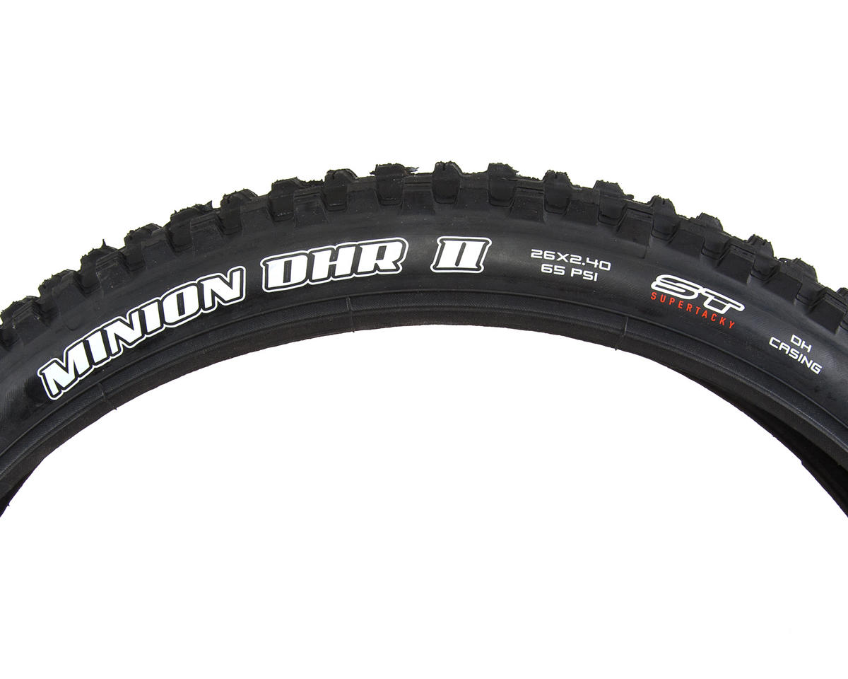 "Minion DHR II 26"" DH Casing Tire (Wire Bead) (Super Tacky)"
