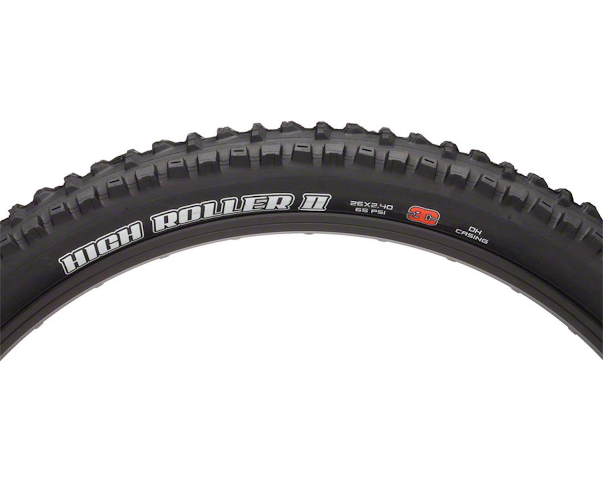 """Maxxis High Roller II 26"""" MaxxGrip MTB Tire (3C/DH) (26 x 2.40WT)"""
