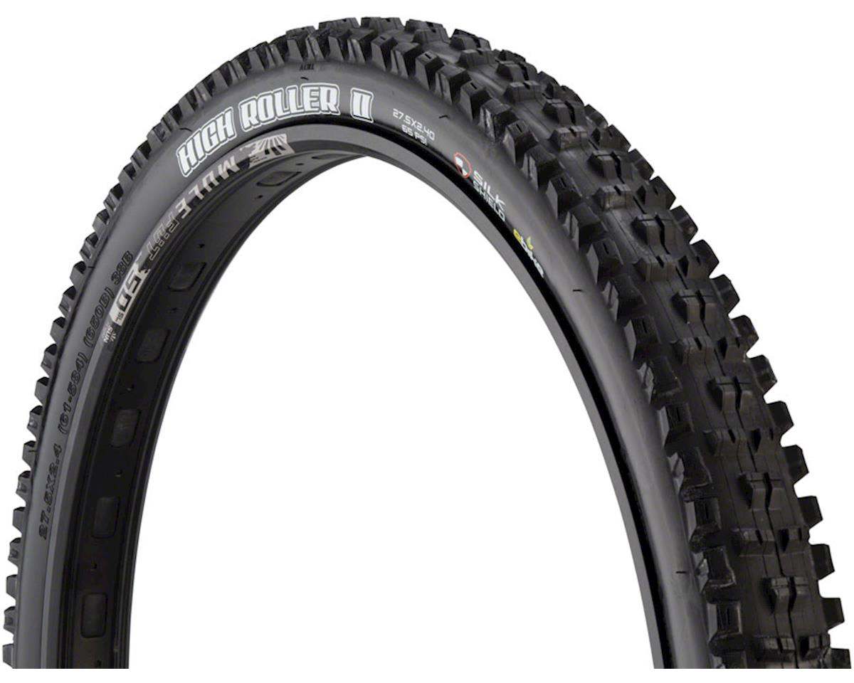 Image 3 for Maxxis High Roller II Single Compound Tire (WT) (SilkShield) (27.5 x 2.40)