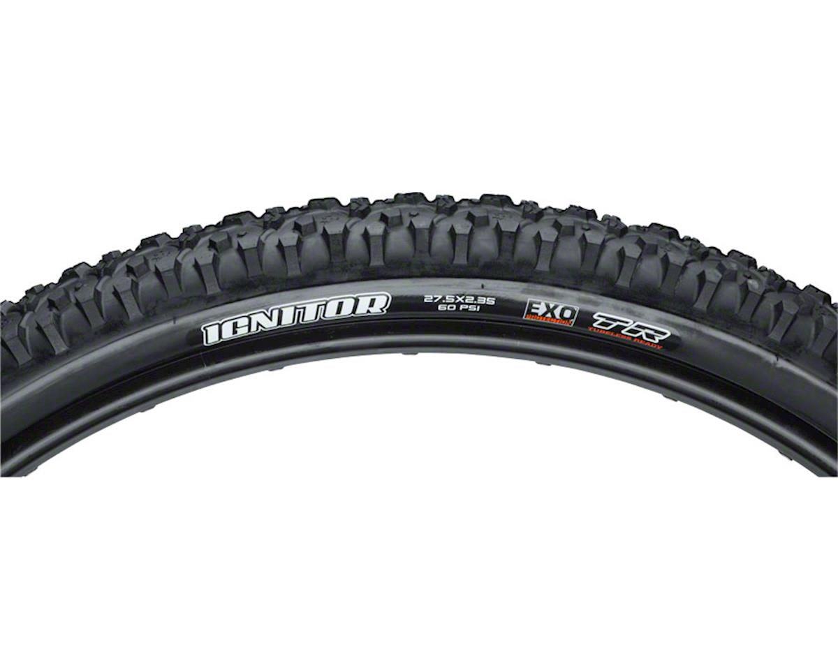 "Maxxis Ignitor Single Compound EXO TLR Tire (27.5 x 2.35"") (Folding)"