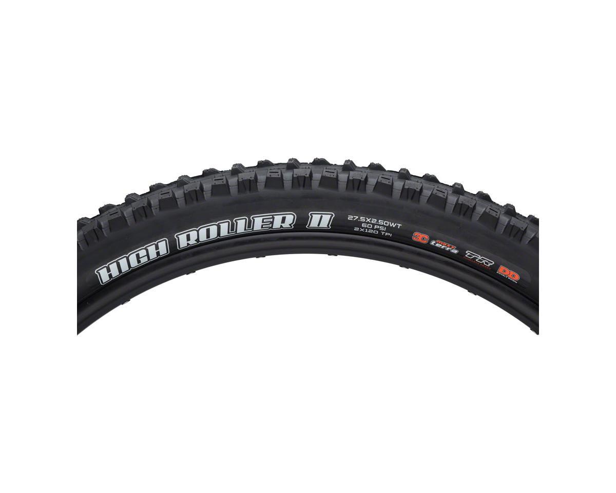 """Maxxis High Roller II 27.5"""" MaxxTerra MTB Tire (3C/TR/DD) (27.5 x 2.50WT)"""