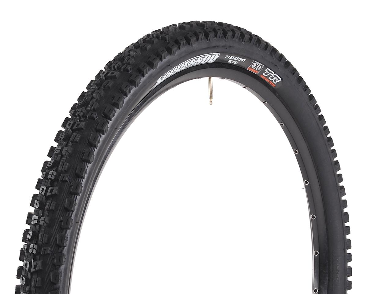Maxxis Aggressor Dual Compound MTB Tire (WT) (EXO/TR) (27.5 x 2.50)