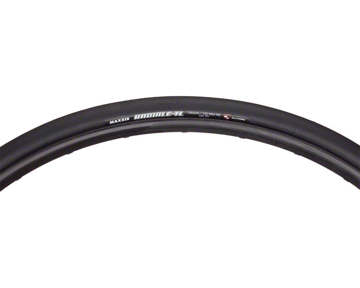 Radiale Road Tubeless 700 x 24 Tire, Folding, 120tpi, Dual Compound, Silk