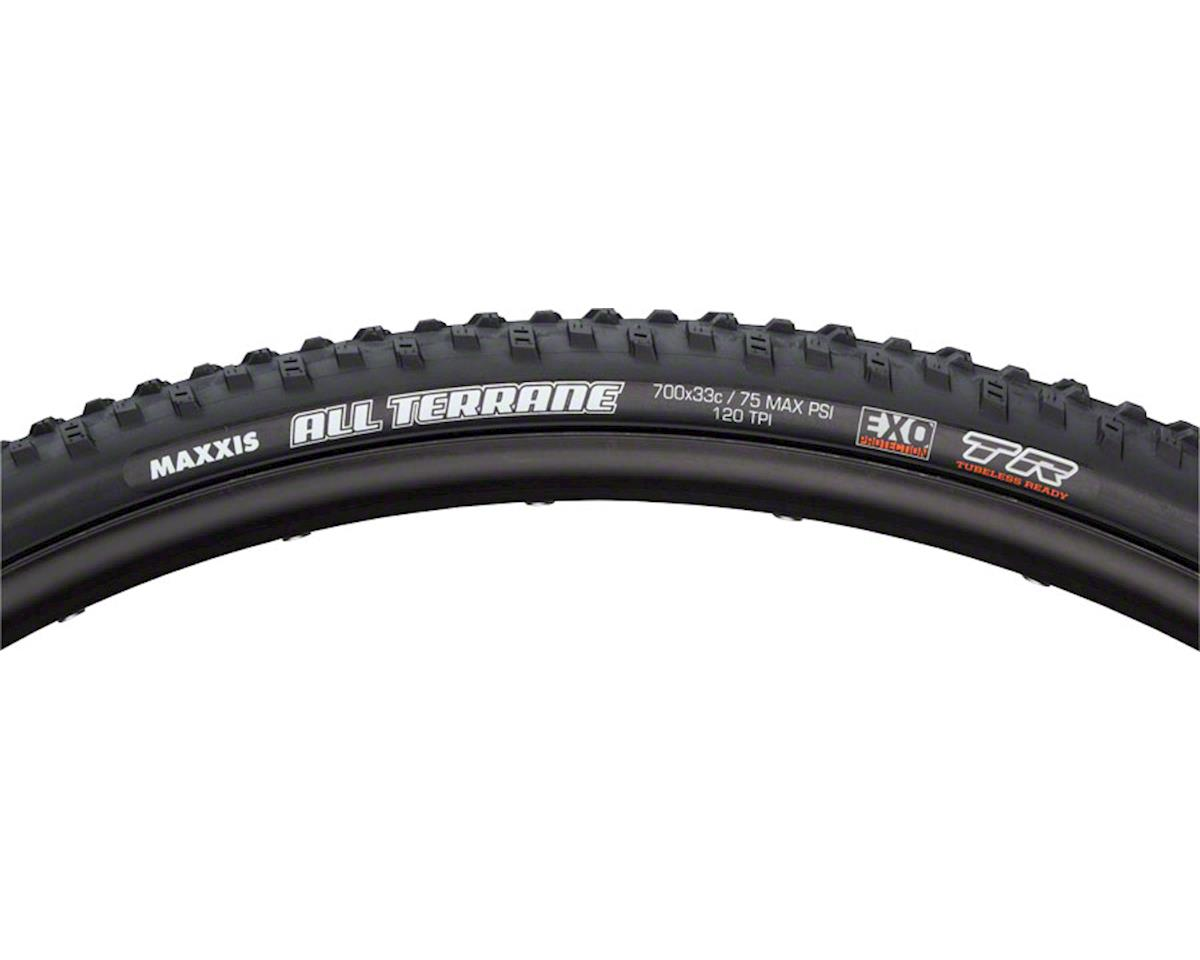 Maxxis All Terrane Tubeless Tire (700 x 33) (Folding) (Exo) (Dual Compound)