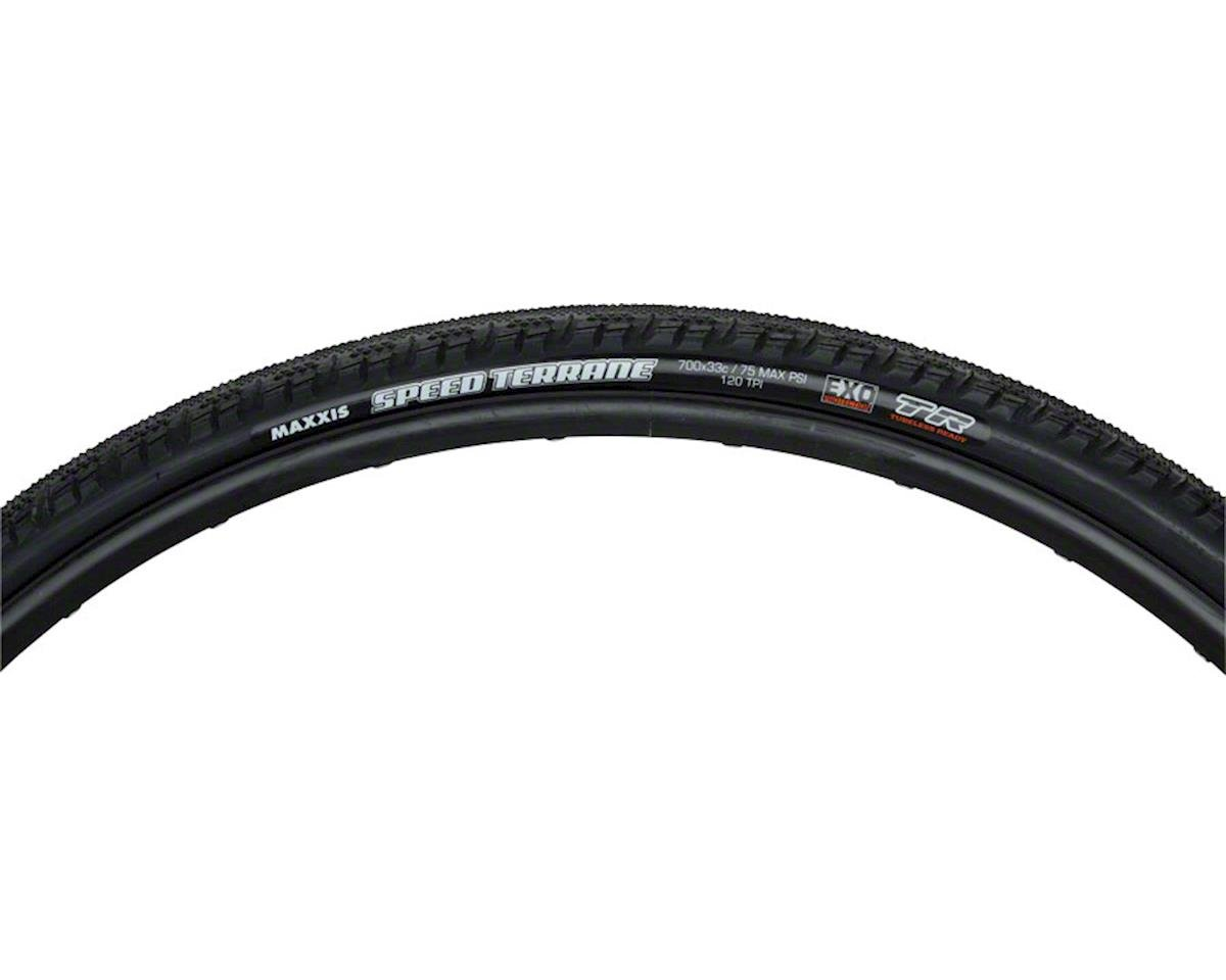 Maxxis Speed Terrane Dual Compound EXO TLR Tire (Carbon Folding) (700 x 33mm)