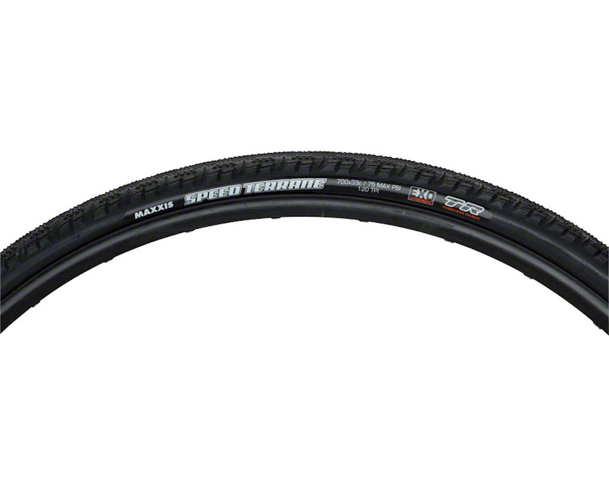 Maxxis Speed Terrane Tubeless  Tire (700 x 33) (Carbon Folding)