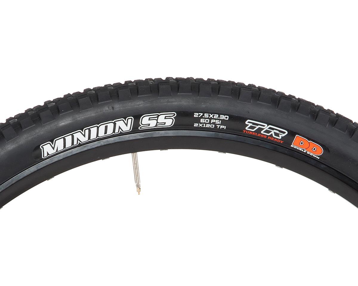Maxxis Minion SS Dual Compound MTB Tire (TR/DD) (27.5 x 2.30)