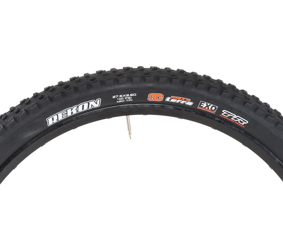 Maxxis Rekon MaxxTerra MTB Tire (WT) (3C/EXO/TR) (27.5 x 2.60)