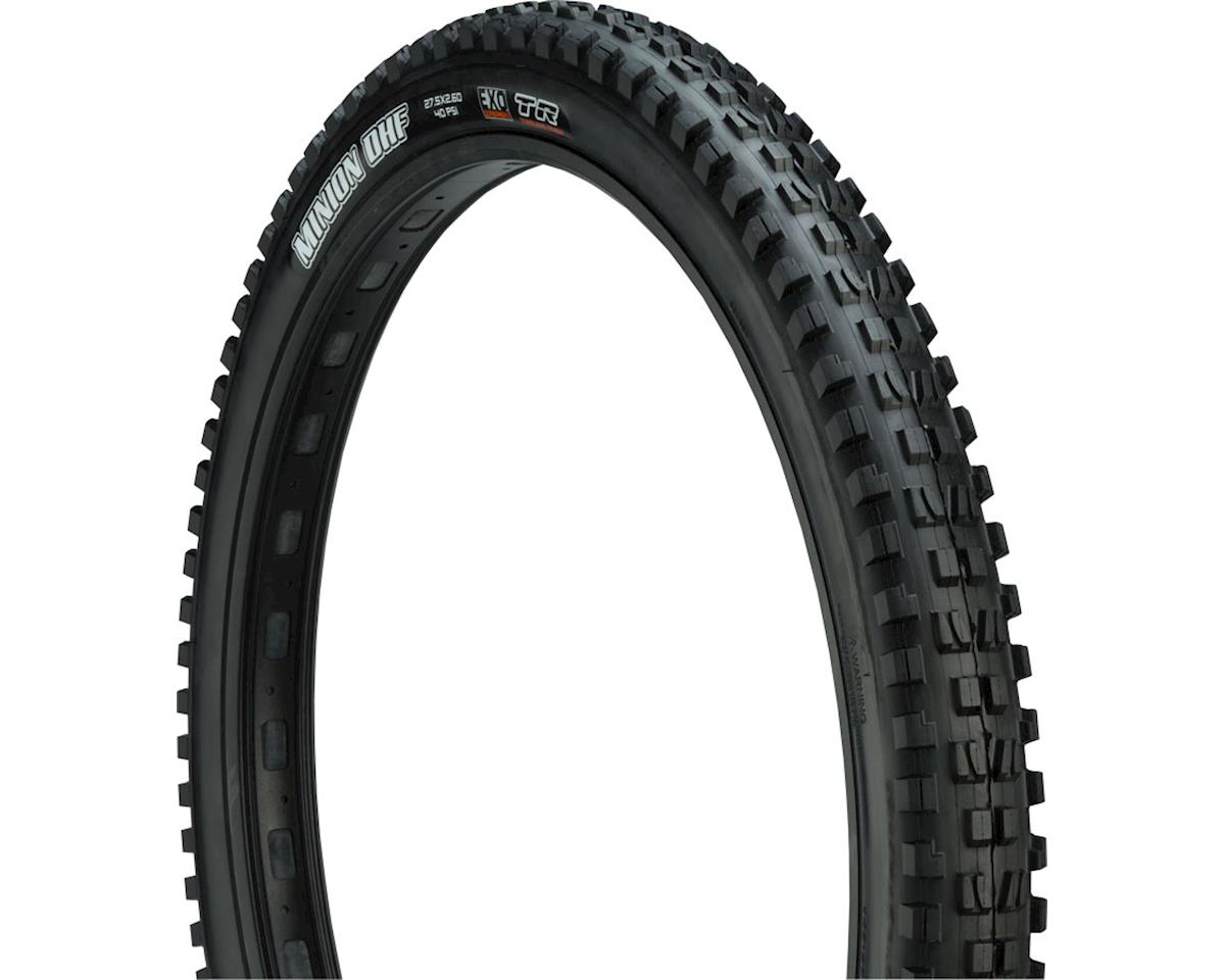 Maxxis Minion DHF Dual Compound MTB Tire (EXO/TR) (27.5 x 2.6 WT)