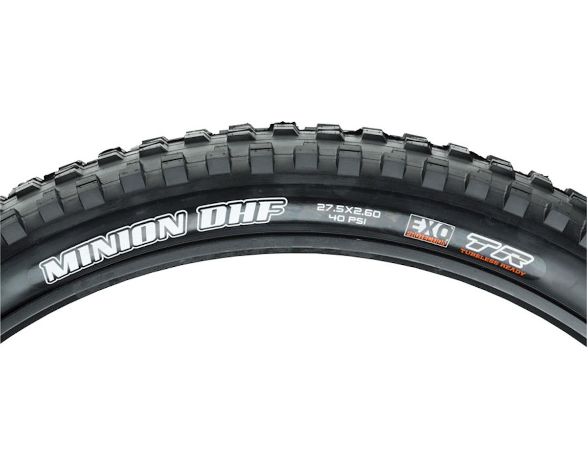 Image 3 for Maxxis Minion DHF Dual Compound Tire (WT) (EXO/TR) (27.5 x 2.60)