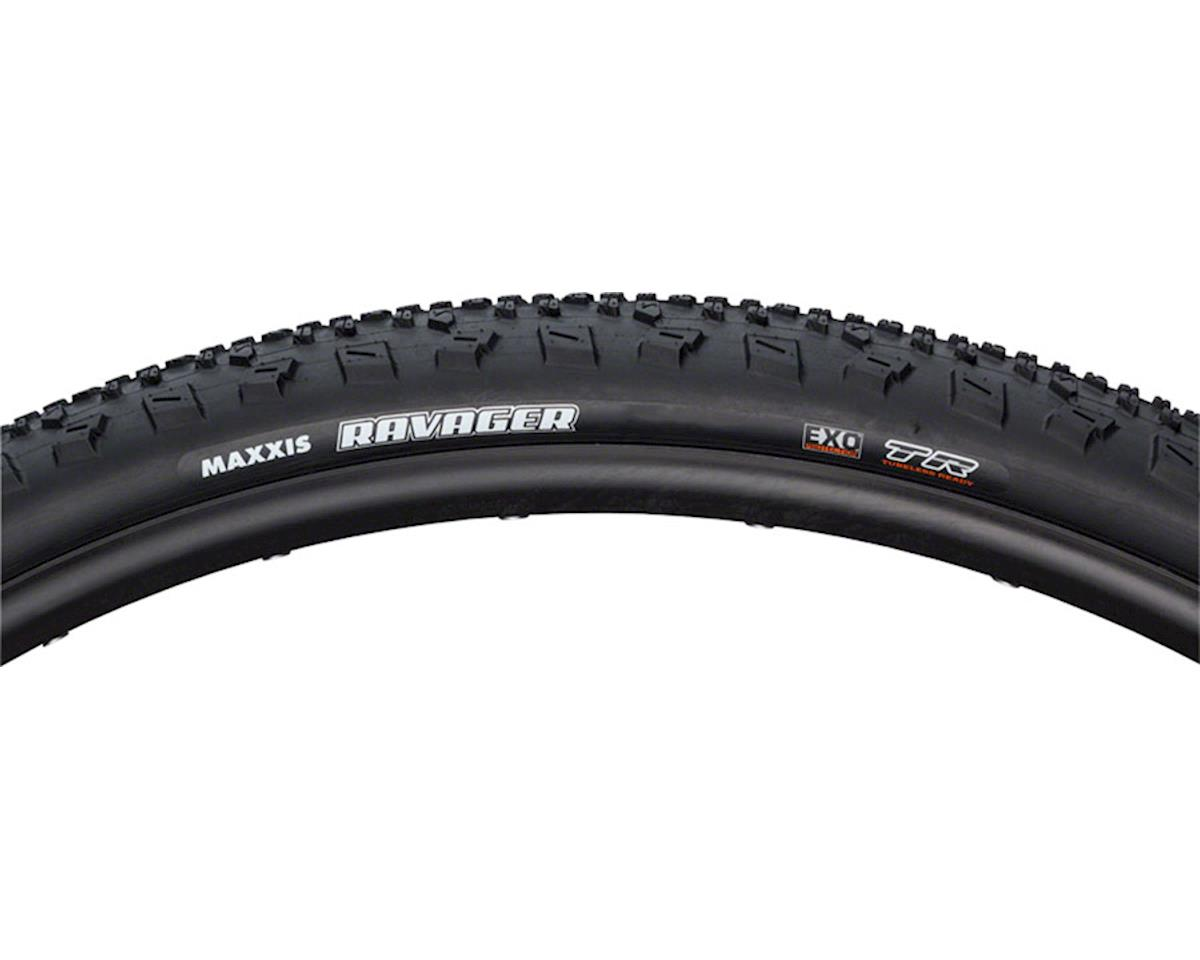 Maxxis Ravager Dual Compound SilkShield TLR Tire (Carbon Folding) (700 x 40c)