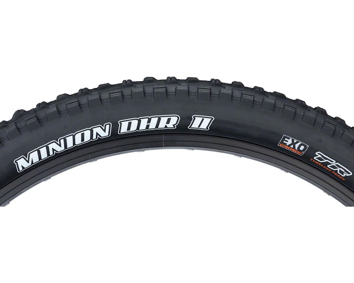 Maxxis Minion DHR II Dual Compound Plus Tire (EXO/TR) (27.5 x 2.80)