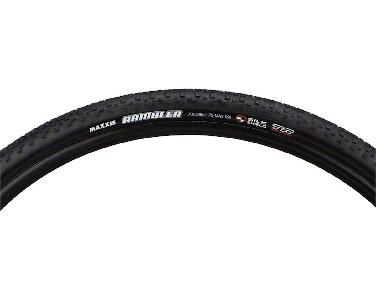 Maxxis Rambler Dual Compound SilkShield TLR Tire (Folding) (700 x 38c)