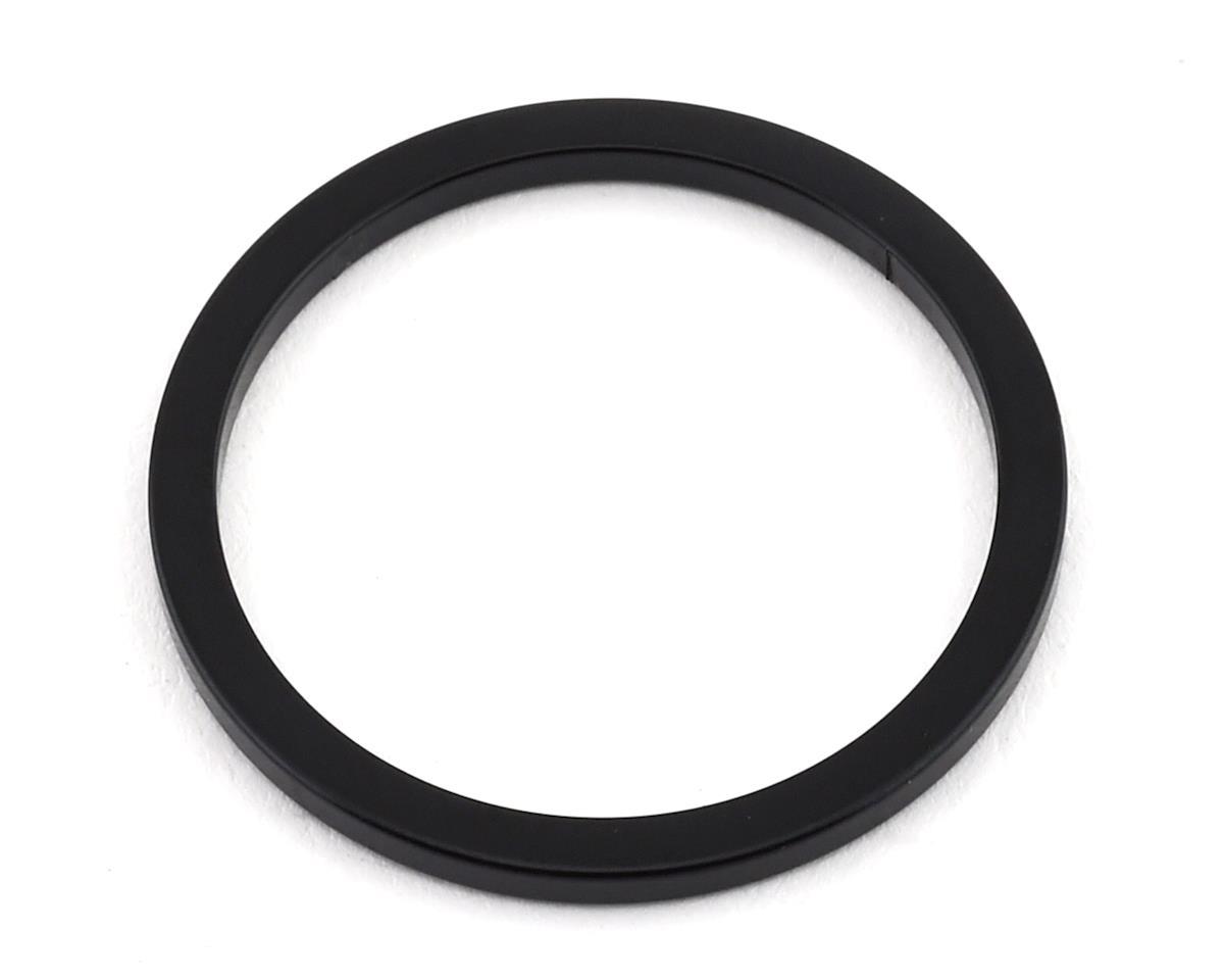 """MCS Aluminum Headset Spacer (1"""") (Black)"""