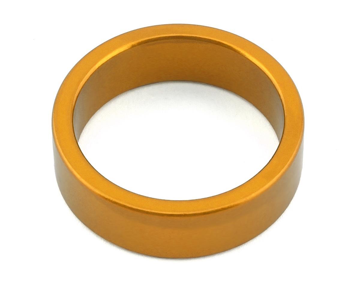 "MCS Aluminum Headset Spacer (1-1/8"") (Gold) (10mm)"