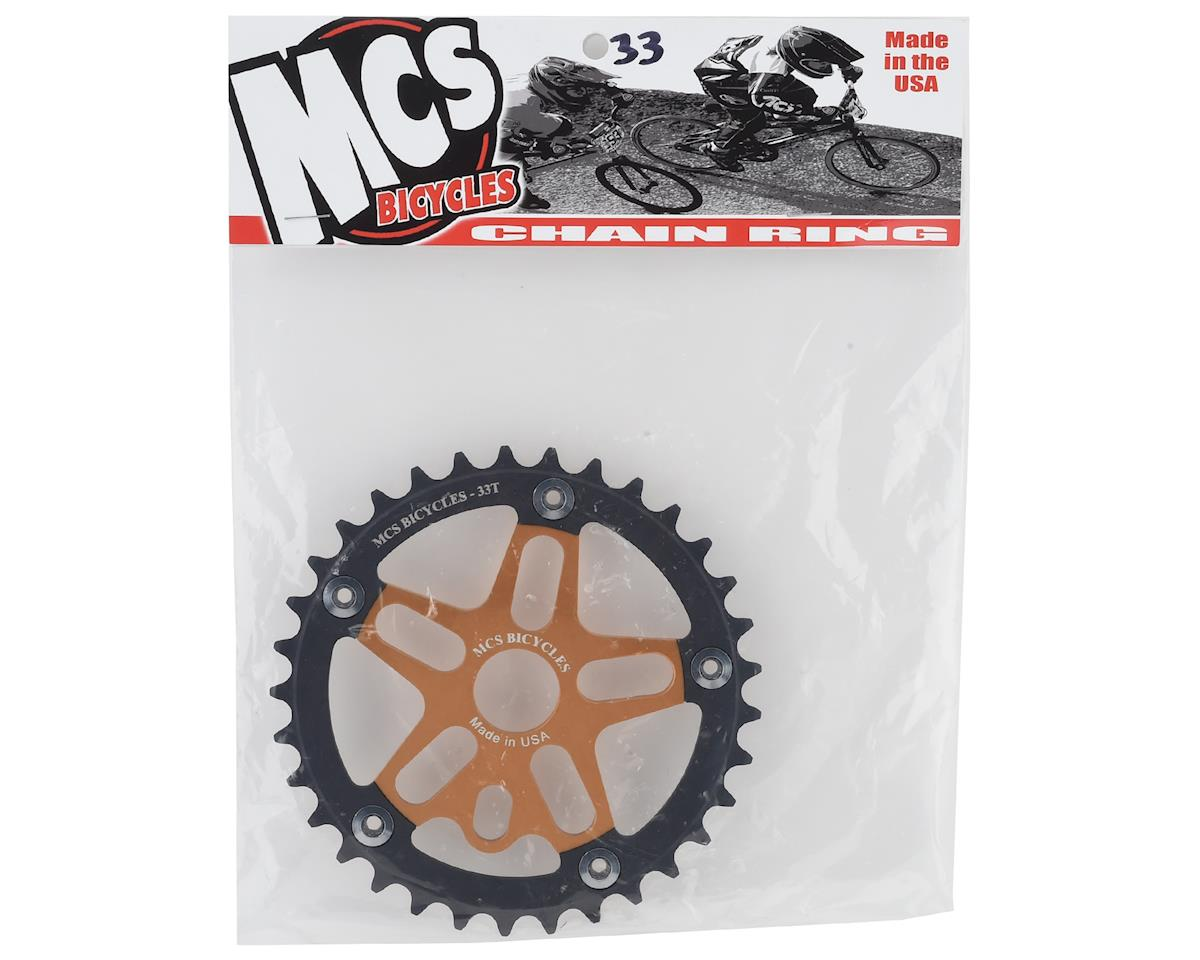 Image 2 for MCS Alloy Spider & Chainring Combo (33T) (Gold/Black)