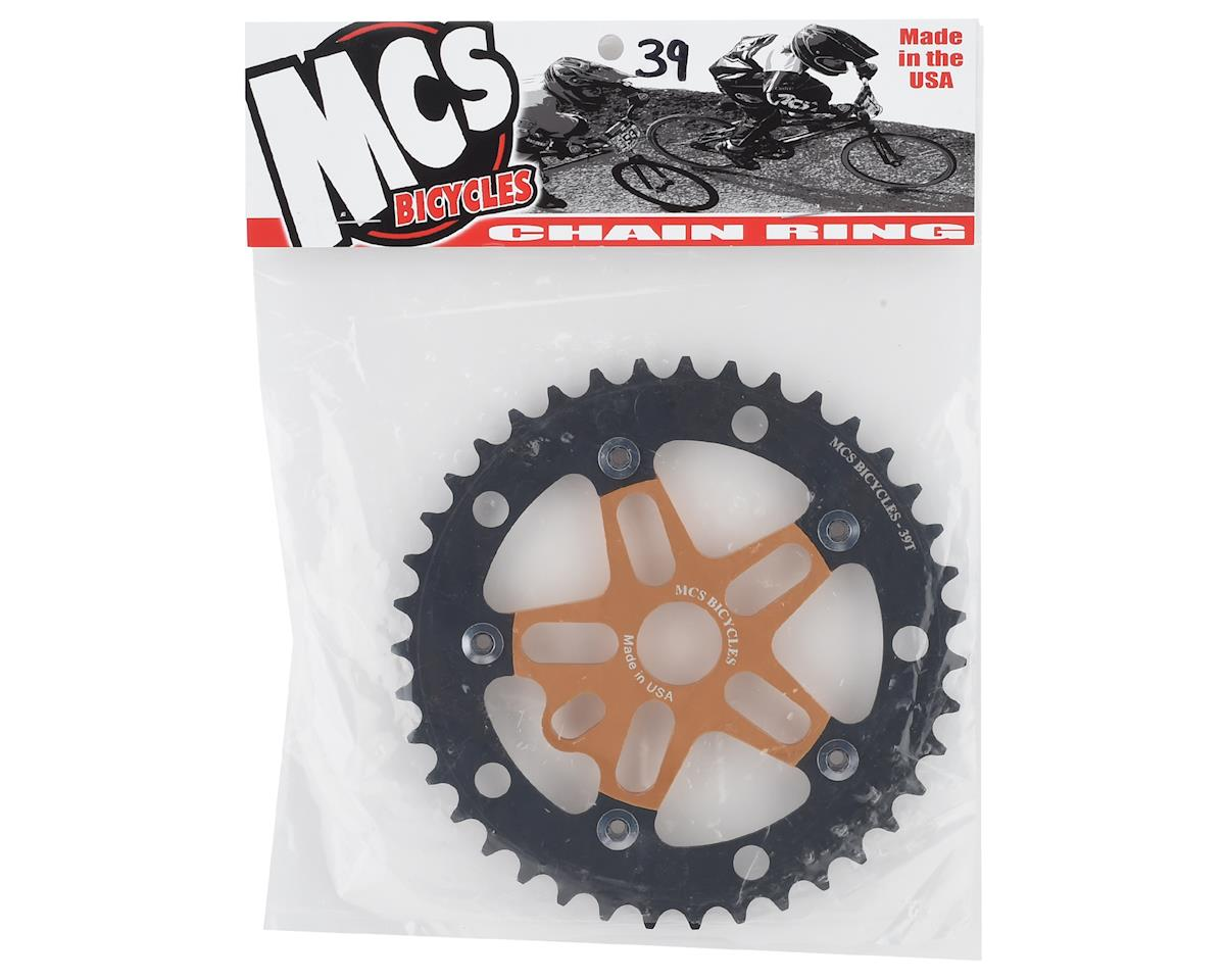 Image 2 for MCS Alloy Spider & Chainring Combo (39T) (Gold/Black)