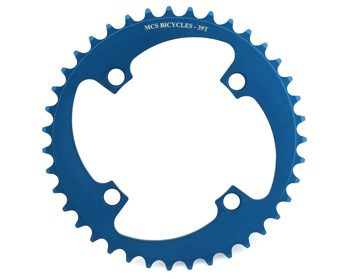 MCS 4-Bolt Chainring (Blue) (39T)
