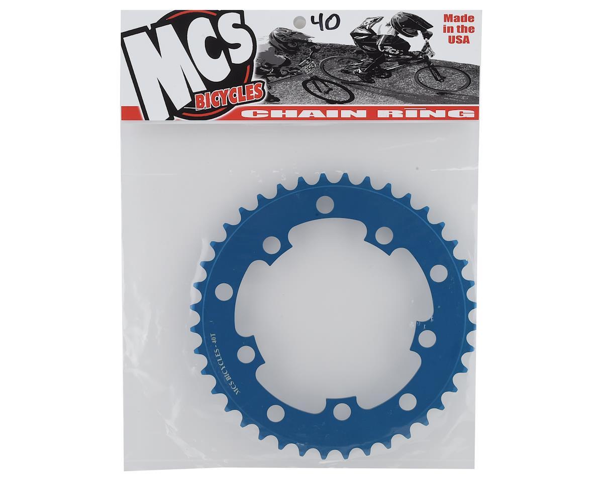 Image 2 for MCS 5-Bolt Chainring (Blue) (40T)