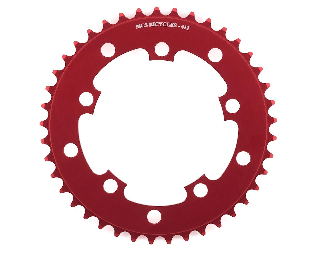 MCS 5-Bolt Chainring (Red) (41T)