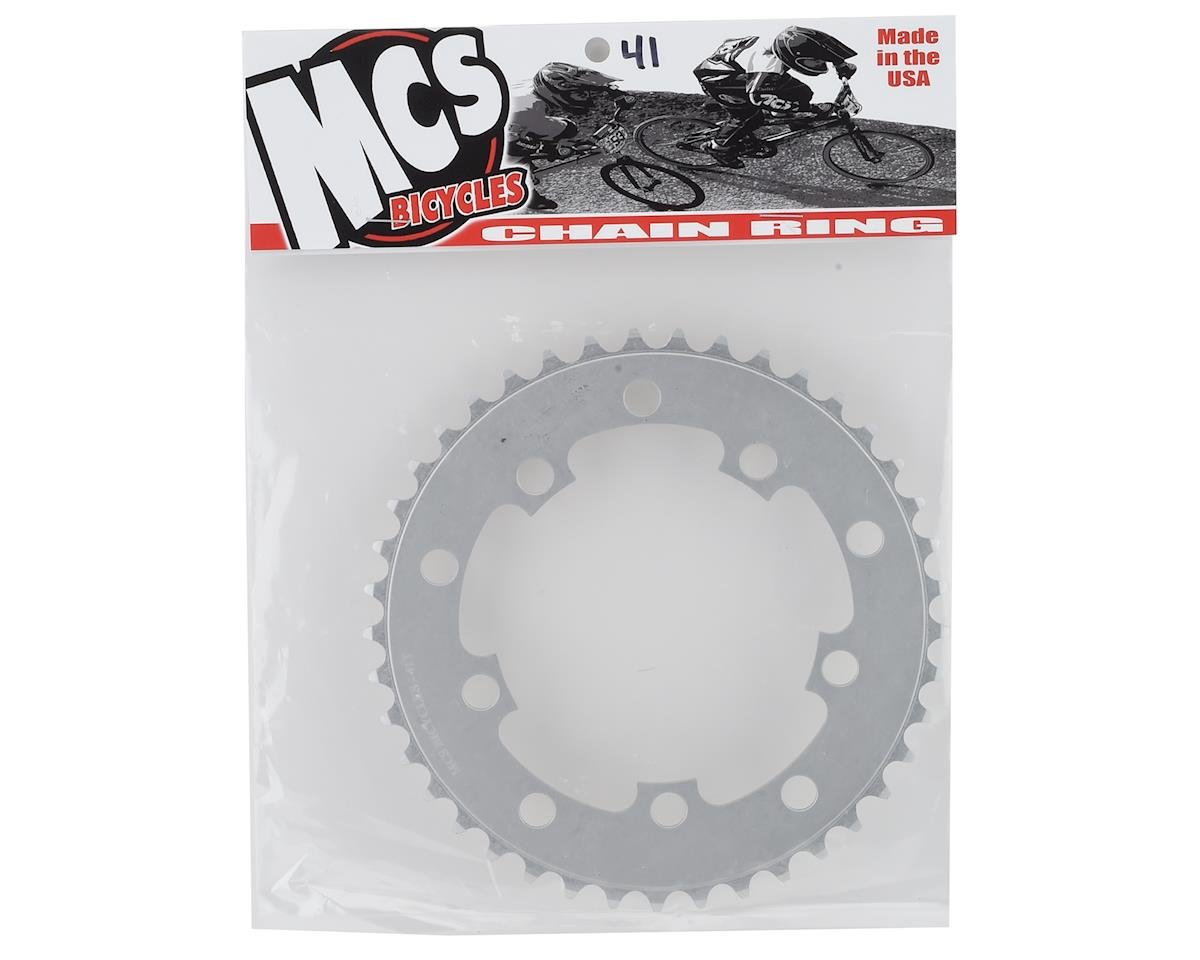 Image 2 for MCS 5-Bolt Chainring (Silver) (41T)