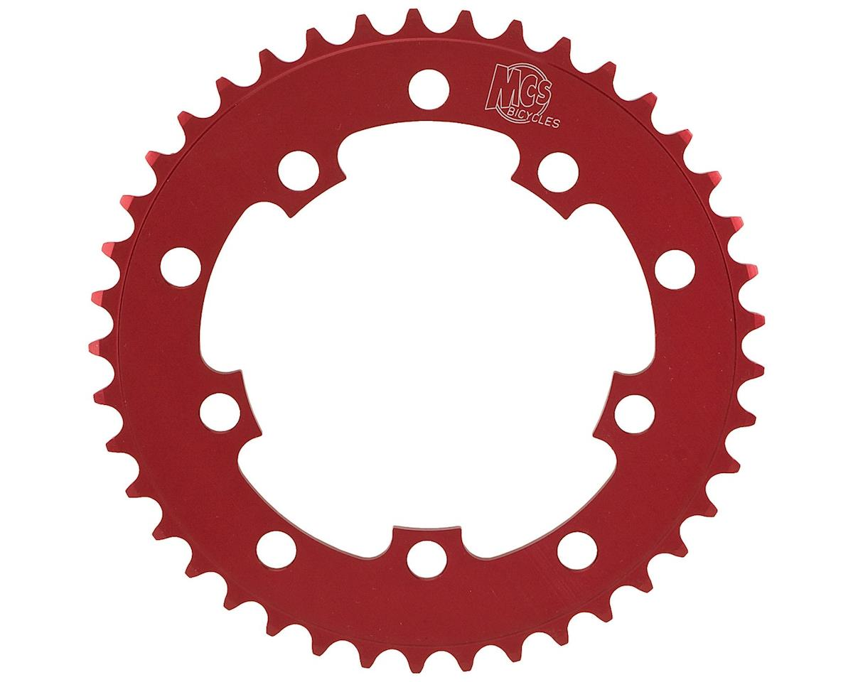 Image 1 for MCS 5-Bolt Chainring (Red) (42T)