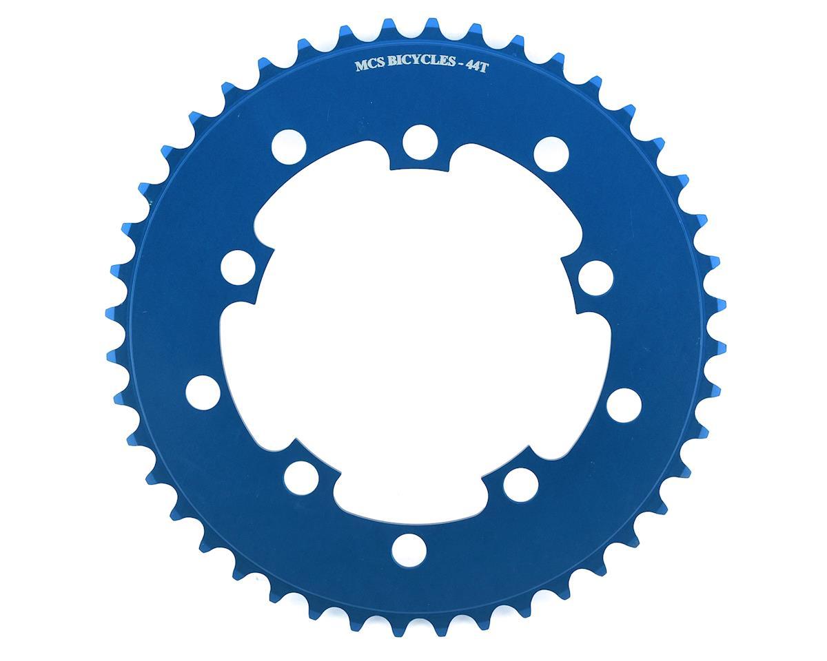 Image 1 for MCS 5-Bolt Chainring (Blue) (44T)