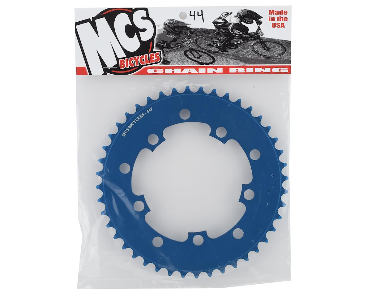 Image 2 for MCS 5-Bolt Chainring (Blue) (44T)