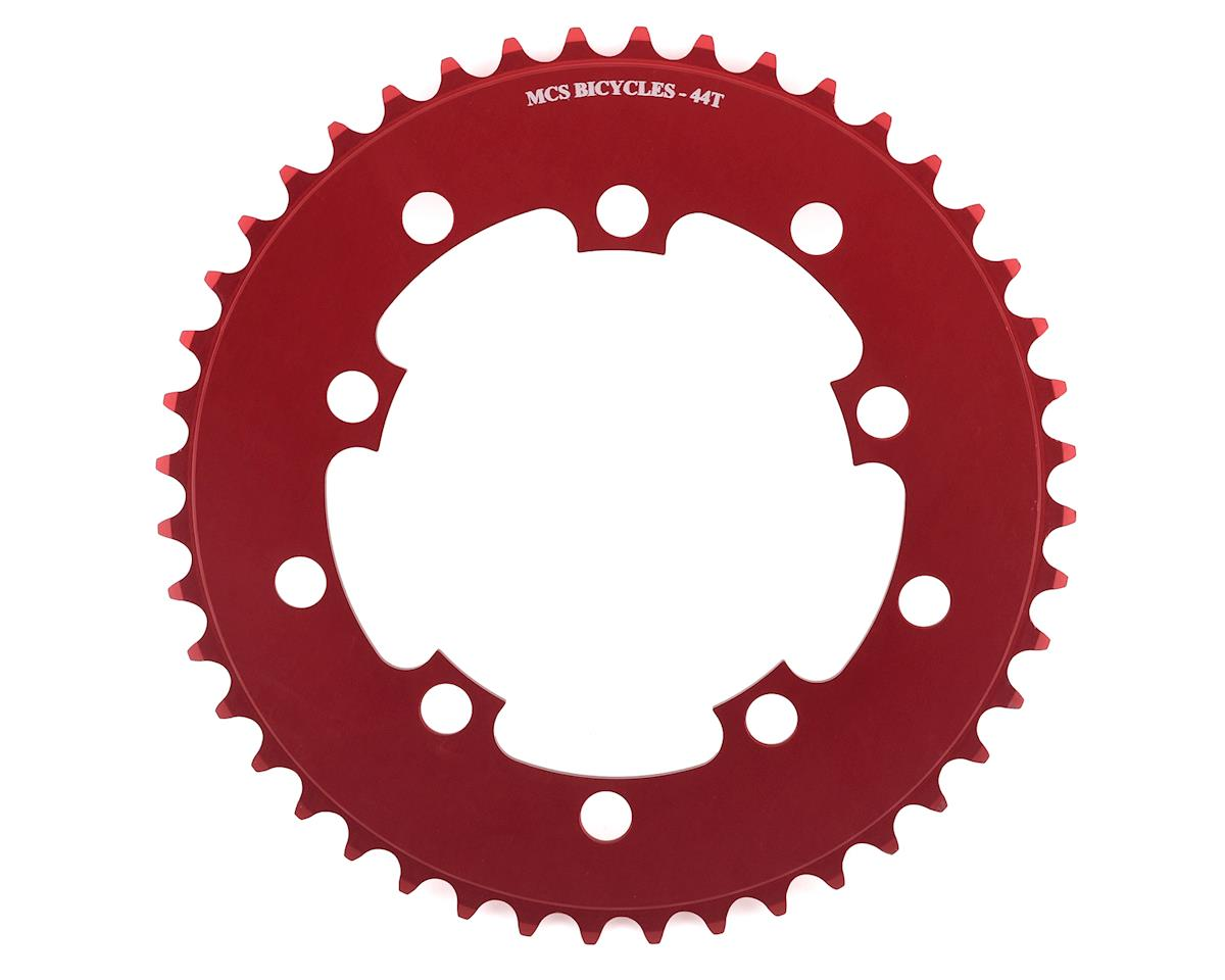 MCS 5-Bolt Chainring (Red) (44T)