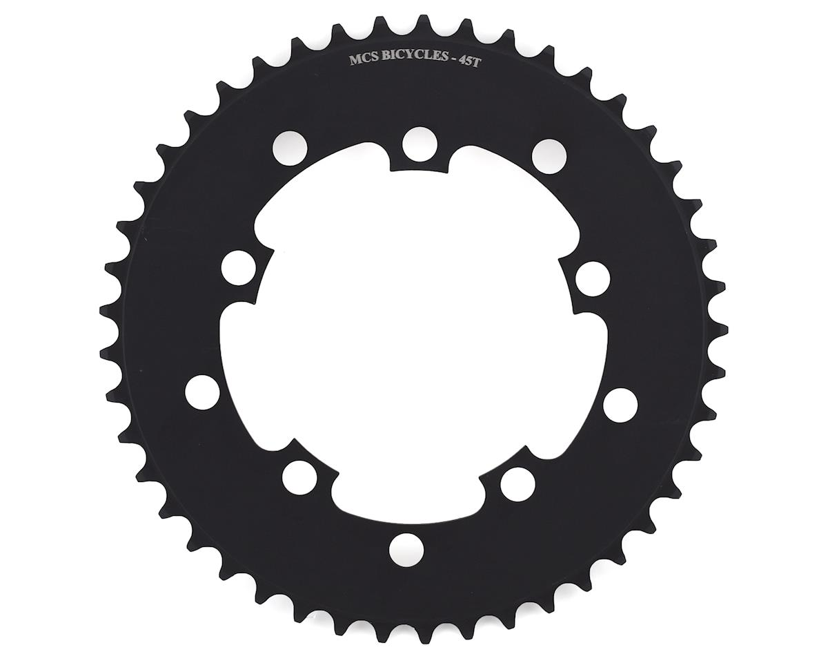 Image 1 for MCS 5-Bolt Chainring (Black) (45T)
