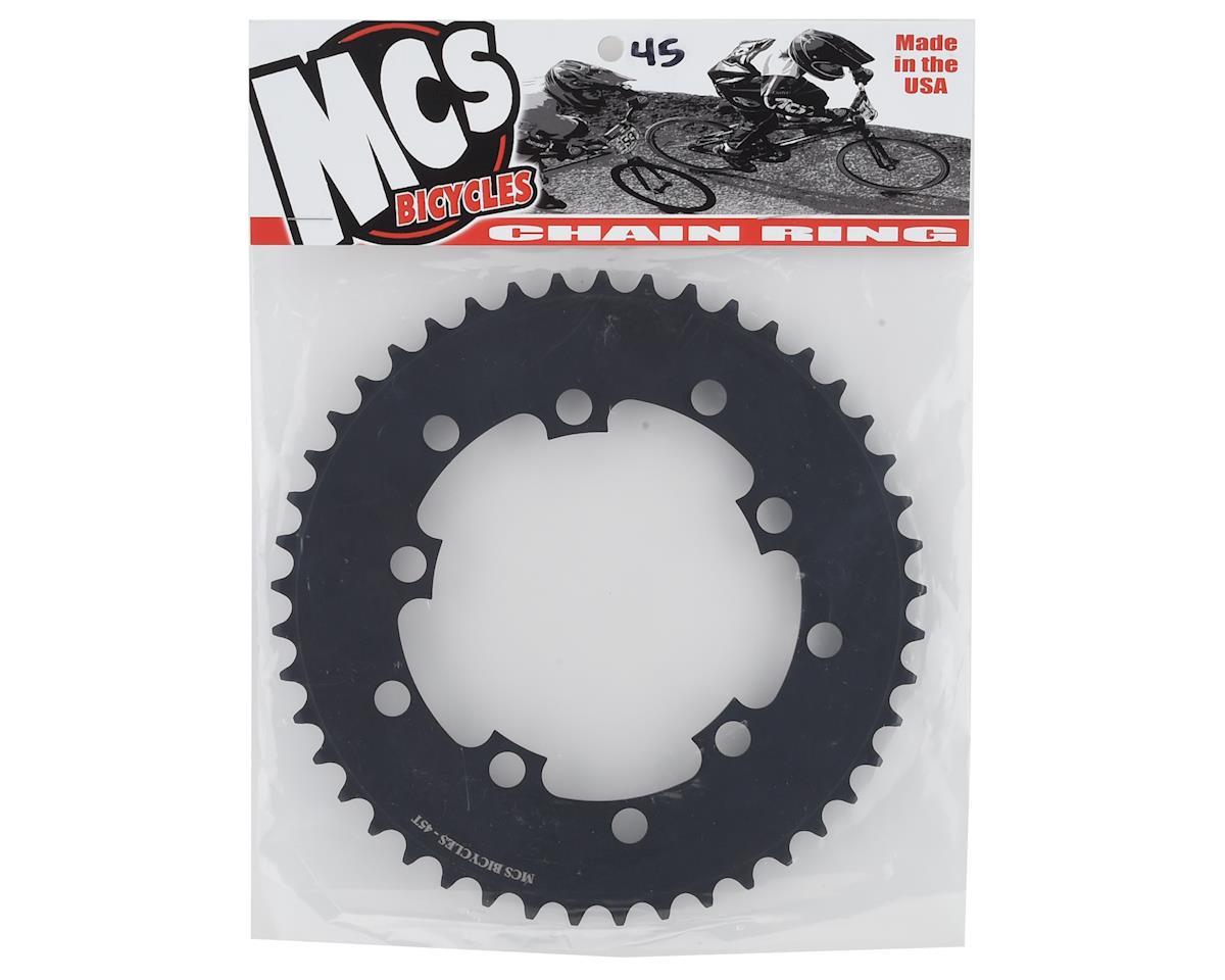 Image 2 for MCS 5-Bolt Chainring (Black) (45T)