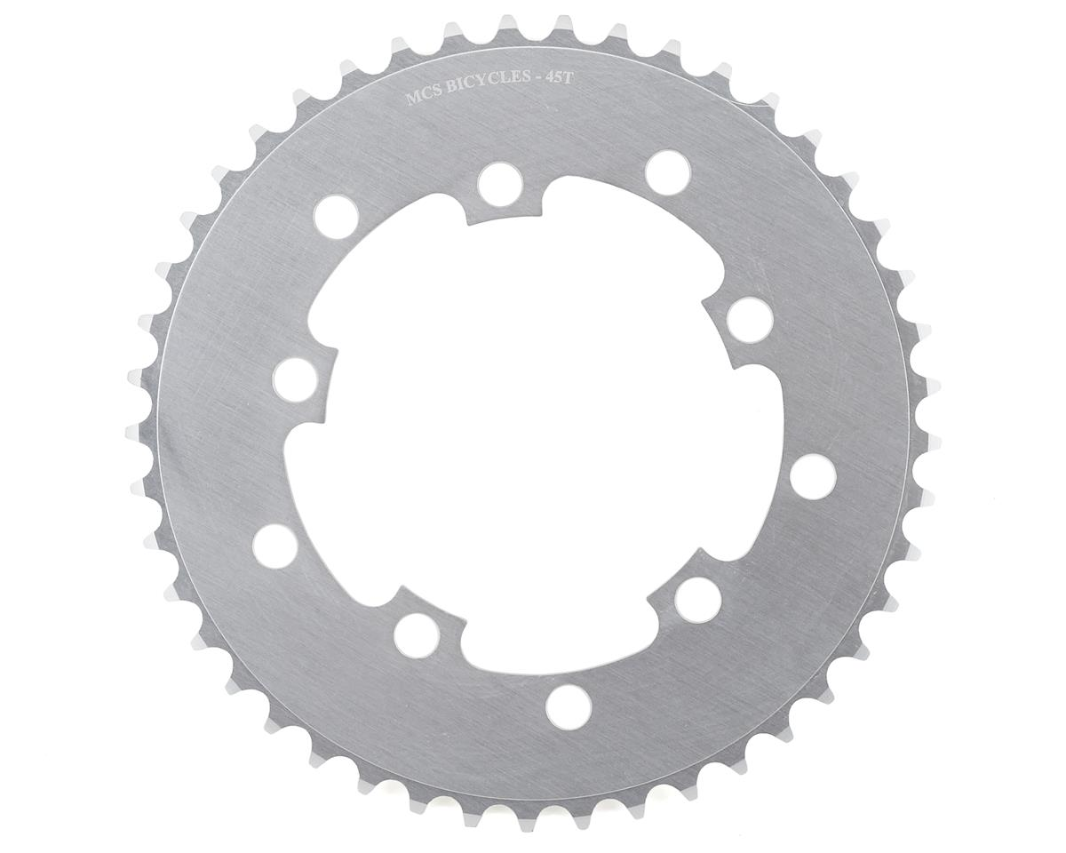 Image 1 for MCS 5-Bolt Chainring (Silver) (45T)
