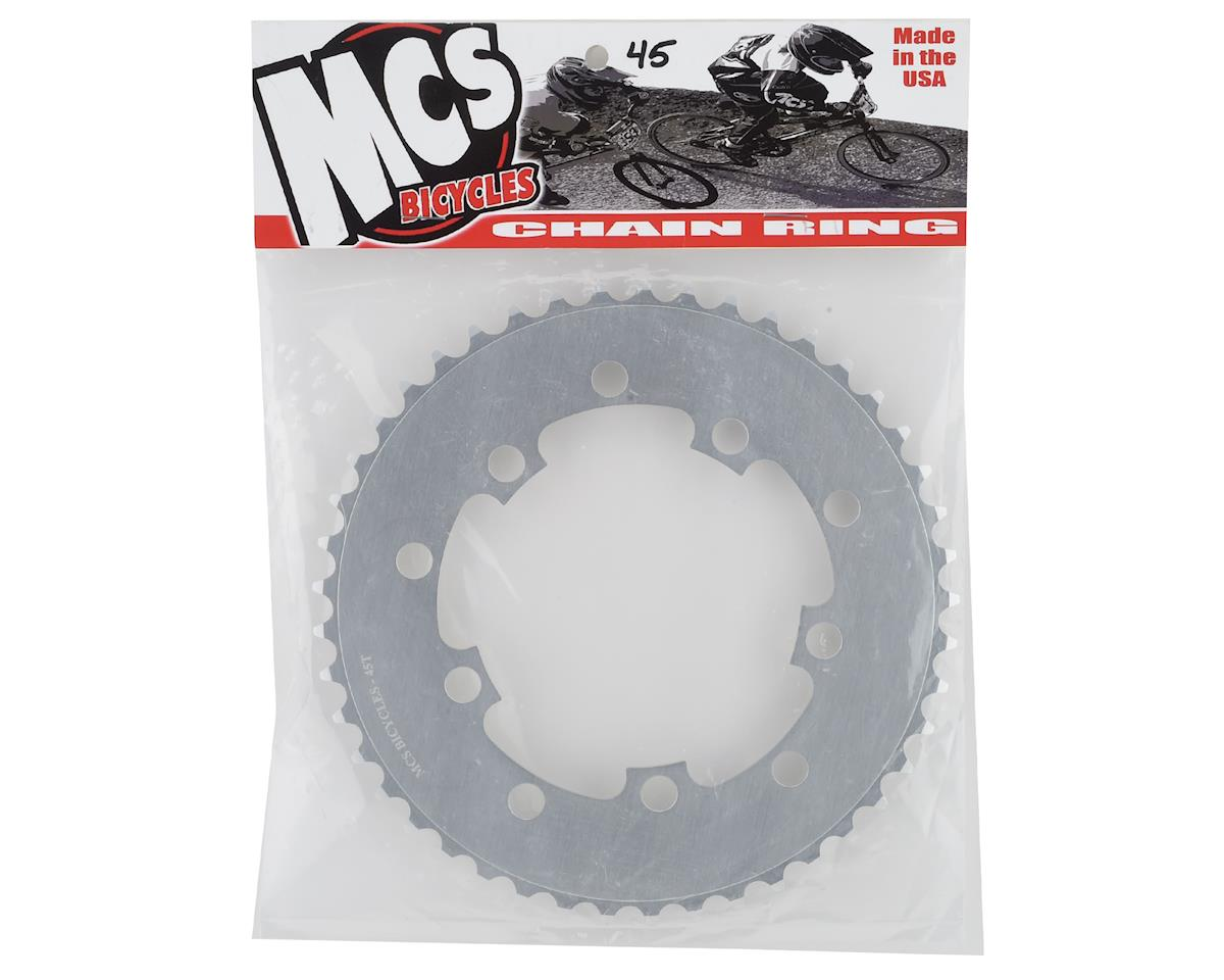 Image 2 for MCS 5-Bolt Chainring (Silver) (45T)