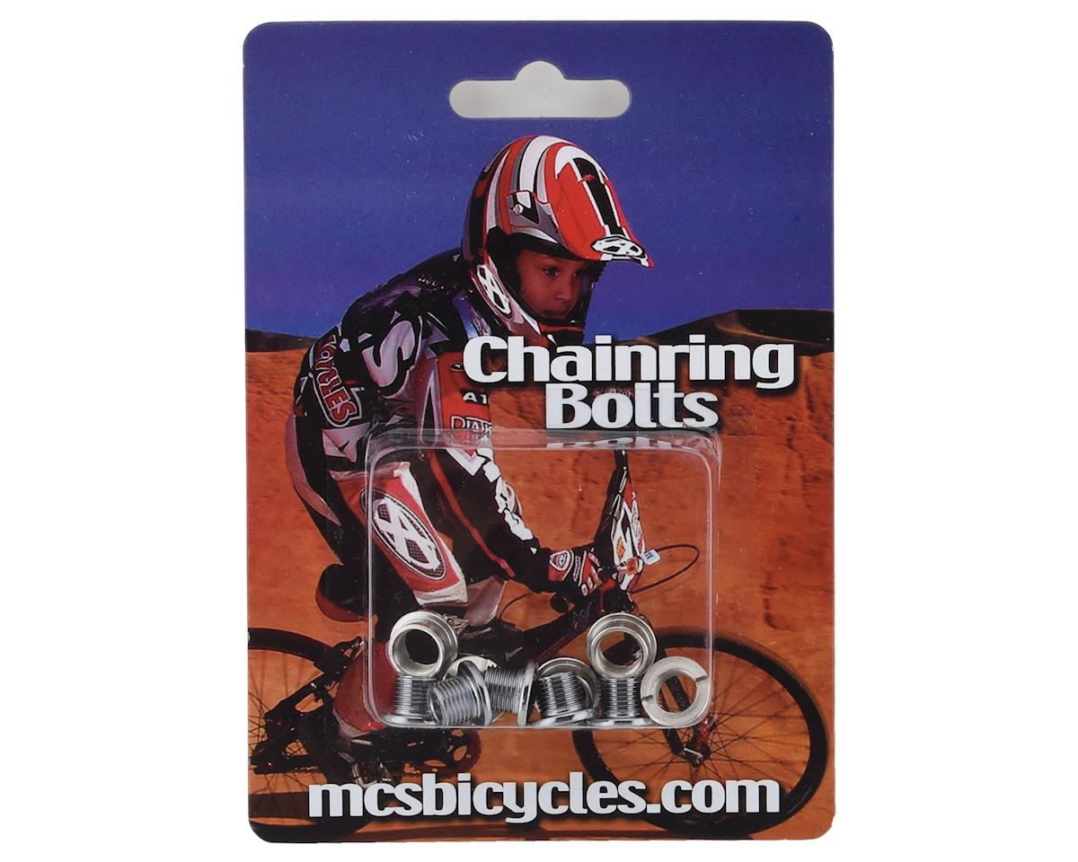 MCS Steel Chainring Bolts (Chrome) | alsopurchased