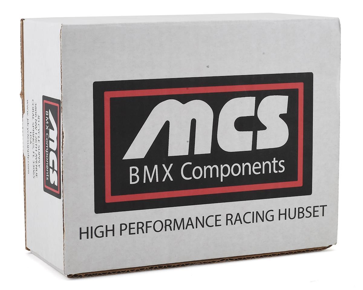 Image 2 for MCS Pro Cassette Hubset (Red) (36H)