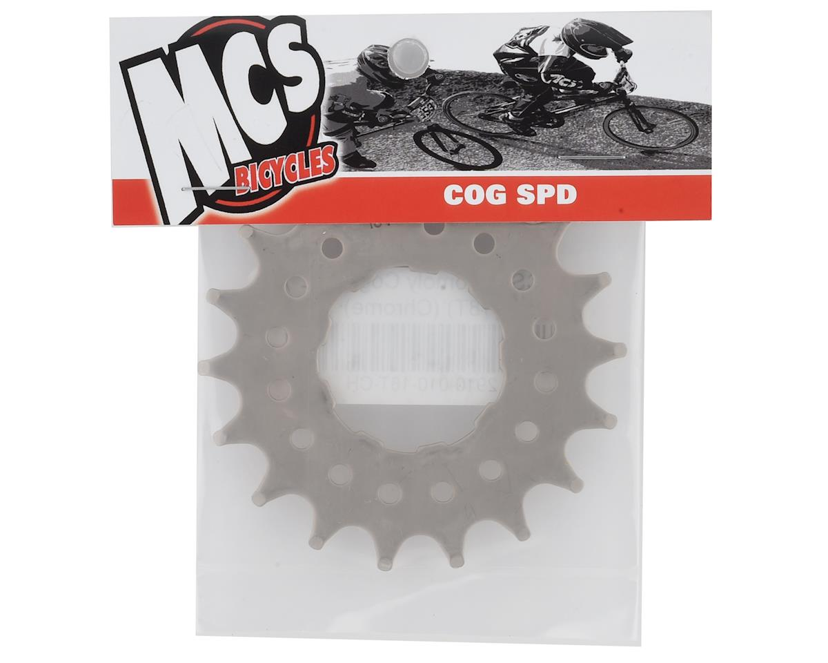 "Image 2 for MCS Chomoly Cog (3/32"") (Chrome) (18T)"