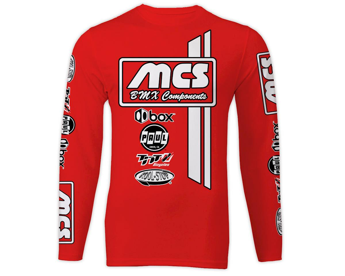 MCS Long Sleeve Jersey (Red) (XXL)