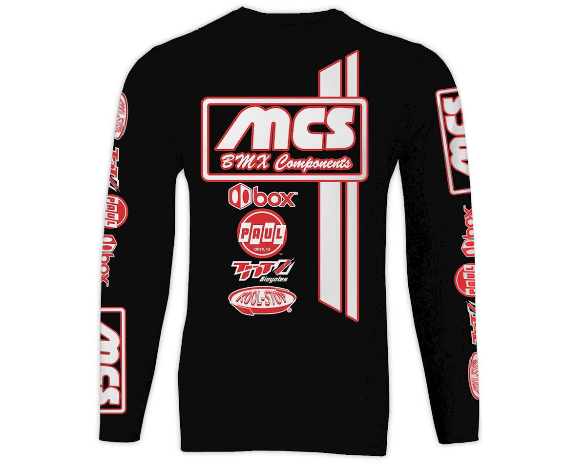 MCS Long Sleeve Jersey (Black) (XL)
