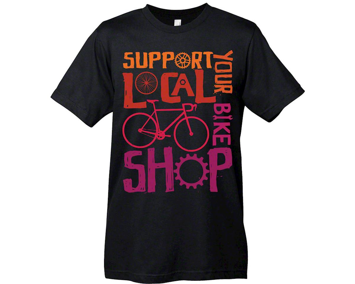 Mechanical Threads Support Your Local Shop T-Shirt: Black~ MD