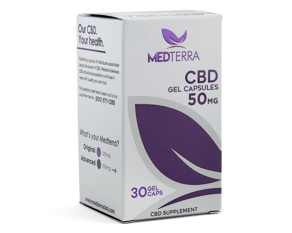 Medterra CBD Gel Capsules (30 Capsules)