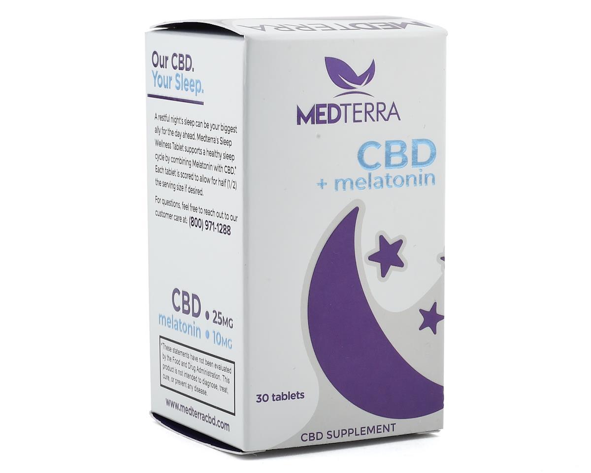 Image 2 for Medterra CBD & Melatonin Tablets (30 Capsules)