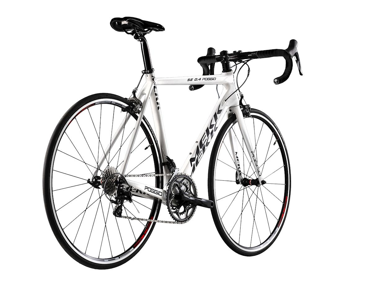 Image 2 for MEKK Bicycles Mekk Poggio SE 0.4 Road Bike (White)