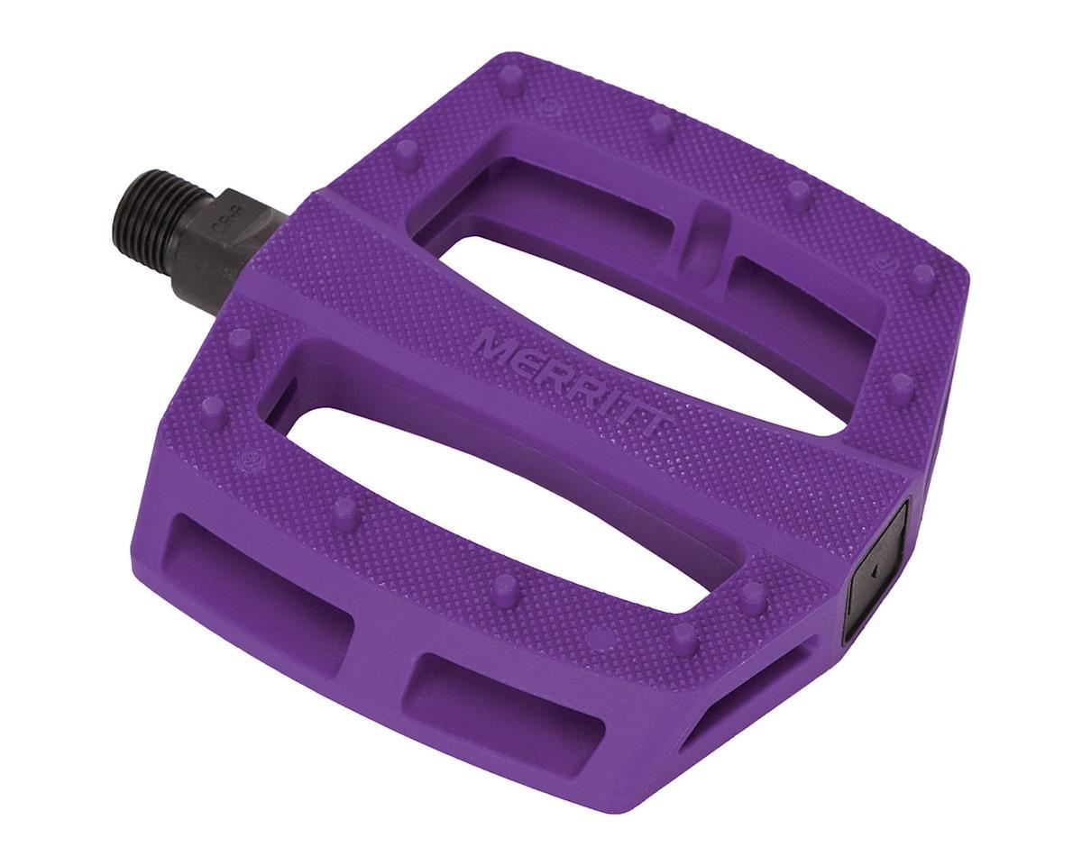 """Merritt P1 PC Pedals (Purple) (9/16"""")"""
